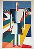 Malevitch Kasimir (Russian 1878-1935) Paysan, Kasimir Malevich, €300