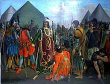 Ludwig Vogel (1788-1879) Soldats en armures / Soldiers in armor
