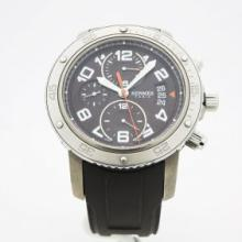 Hermes men?s watch. 45mm stainless steel case