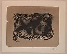 Antoni Tapies, II from Erinnerungen
