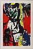 Asger Jorn, Dead spot, Litografia a colori, 1958, Asger Jorn, €1,200