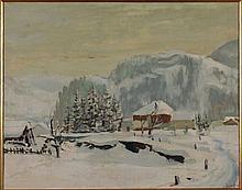 Giuliano Emprin, Neve a Bardonecchia, 1945