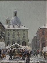 Giuliano Emprin, Neve a Porta Palazzo, 1920
