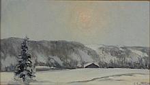 Giuliano Emprin, Sole invernale, 1971