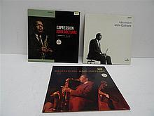 (p) JOHN COLTRANE: LOT DE 3 LP JOHN COLTRANE,