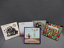 (p) POP/ROCK LOT 5 LP: ROLLING STONES, BOB MARLEY, CARNABY GROUP, MADNESS, THE CURE , VG+ MINT.