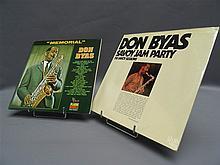 (p) DON BYAS - Lot de 2 x 2LP (double LP), disques MINT & scealed (prob. unplayed) :
