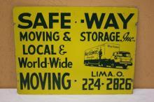 Mayflower Moving & Storage Sign