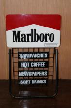 Marlboro Sidewalk Sandwich Sign