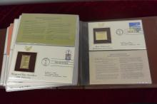 1981 american FDC with gleaming gold(42)