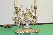 pair of 19th Century table lambs