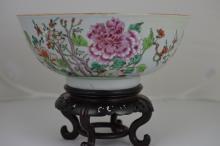 QianLong Famille Rose Porcelain Big Bowl