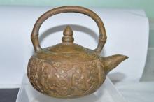 Small Bronze Teapot