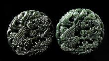 Chinese Two Jade Pendants