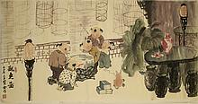 Chinese Painting Of Boys