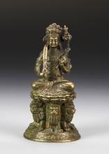 Indian Brass Buddha Figure