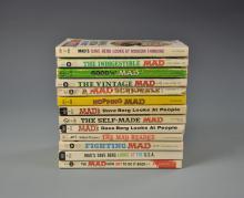 Thirteen MAD Magazine Paperbacks