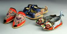 Chinese Mini Silk Lady Shoes