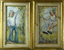 Acylic On Canvas Paintings