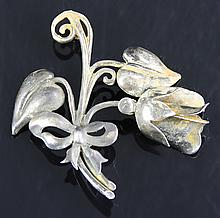 Chinese Silver Pin
