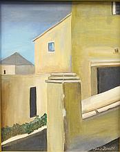 Painting of Modern Architecture, Doris Bivon