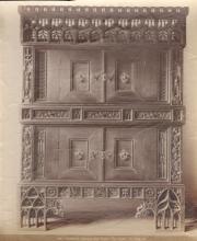 Albumen Print of Gotischer Schrank