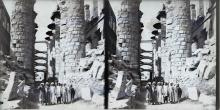3 Glass Negatives of Egyptian Ruins