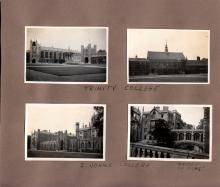 Four Photos of Trinity and St. John's Colleges