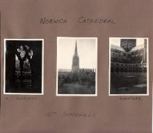 Three Photos of Norwich Cathedral