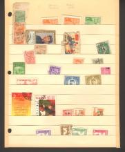 Twenty Eight Chinese Stamps