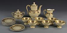 German Fifteen Piece Tea Set