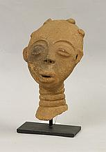 Akan Terracotta Head
