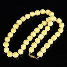 Chinese Ivory Necklace