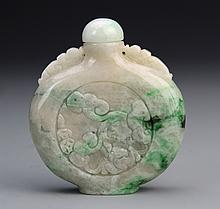 Chinese Jadeite Snuff Bottle