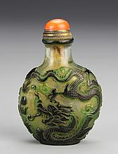 Chinese Peking Glass Snuff Bottle