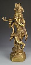 Indian Brass Lady Figure