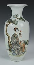 Chinese Painted Porcelain Vase