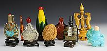 Ten Chinese Snuff Bottles