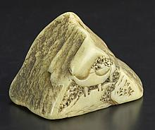 Chinese Carved Jade Seal Chop