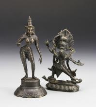 Asian Tin Metal Buddhas