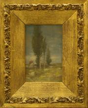 Framed Landscape Painting