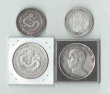 Four Chinese Silver Coins