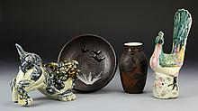 Japanese and Chinese Porcelain Hen