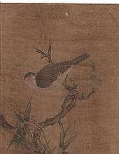 Chinese Painting on Silk, Attributed to Ren Borian