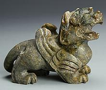 Chinese Carved Jade Mythical Animal