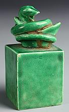 Chinese Green Porcelain Seal Chop