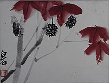 Chinese Framed Painting, Qi Baishi