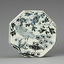 Chinese Blue and White Ink Box