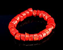 Chinese Coral Bracelet