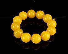 Chinese Wax Bead Bracelet